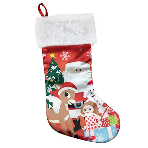 Rudolph The Red-Nosed Reindeer Christmas Stocking -