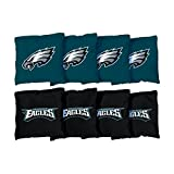 Victory Tailgate Philadelphia Eagles NFL Cornhole Game Bag Set (8 Bags Included, Corn-Filled)
