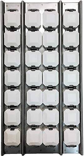 RCK Gas Grill Center Briquette Tray Assembly Briquettes, Tray & Clips Fit's Lynx 19.25