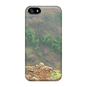 Protective Tpu Case With Fashion Design For Iphone 5/5s (lungoor Monkey India)