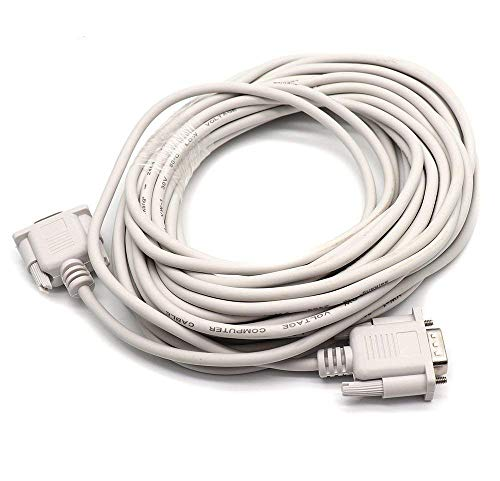 - Yootop DB9 Pin Serial Port Male to Female Long Extension Cable 32.8Ft