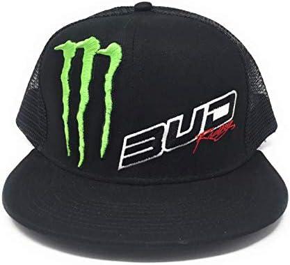 Talla /única Gorra del Team Bud Racing Snapback