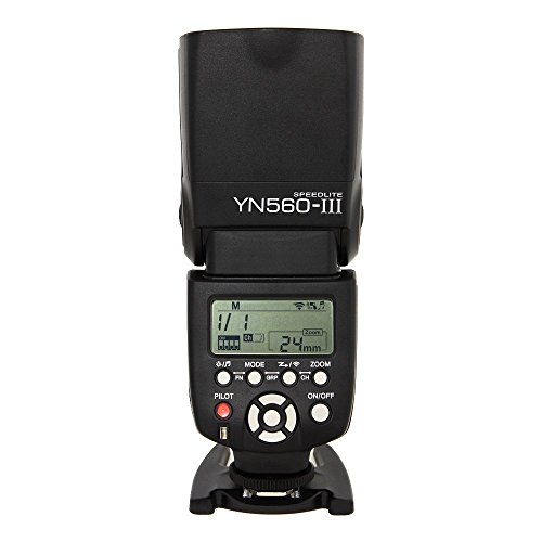 Price comparison product image Yongnuo 1198321 YN560-III Wireless Flash Speedlite Support for Canon,  Nikon,  Pentax,  Olympus