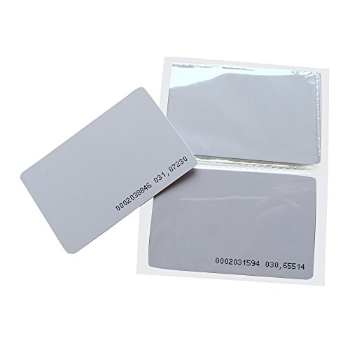 YARONGTECH Proximity RFID Card 125KHZ EM4100 Read Only ID Smart Door Entry Access Control Plastic Card (pack of 10)