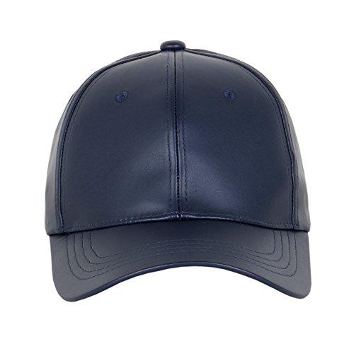 338bb0fdd36 Unisex Leather Low Profile Baseball Dad Cap