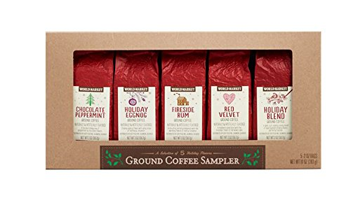 World Market Holiday Limited Edition Ground Coffee (5 Holiday Sampler)