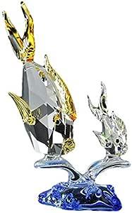 Crystal Asfour 958/872/3 Fish Decor - Multicolor