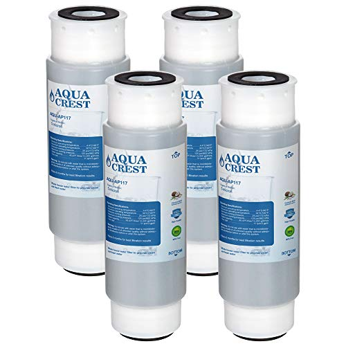 (AQUACREST AP117 Whole House Water Filter, Compatible with 3M Aqua-Pure AP117, Whirlpool WHKF-GAC (Pack of)
