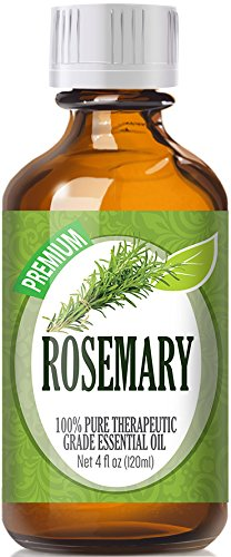 Rosemary Essential Oil - 100% Pure Therapeutic Grade Rosemary Oil - 120ml by Healing Solutions