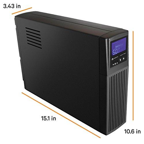 Liebert 1000VA 600W LCD UPS Mini-Tower Battery Backup & Surge Protection, 3 Year Warranty (PSA4-1000MT120) by Liebert (Image #3)