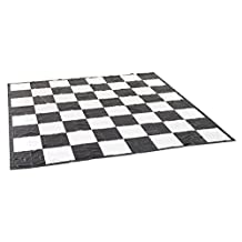 Garden Games Giant Chess / Draughts Mat - Super Strong PVC 3m x 3m for use with Giant Chess and Draughts Pieces