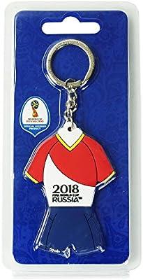 FIFA Campeonato Mundial 2018 – PVC Llavero Camiseta España Ambos ...