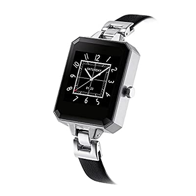 LEMFO LEM2 Bluetooth Smartwatch Fashion Female Women Watch Heart Rate Monitor MTK2502C APK for Apple IOS Android Phone