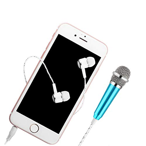 Culinary 2116 Universal Mini Microphone with Omnidirectional Stereo Mic for Phone, Singing