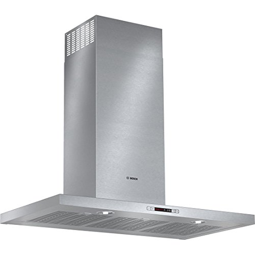 "Bosch 500 Series HCB56651UC 36"" Box Canopy Chimney Hood with"