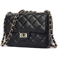 Black Fashion Women Lady Leather Messenger Crossbody Shoulder Bag Satchel Handbag Tote [SHP-1]