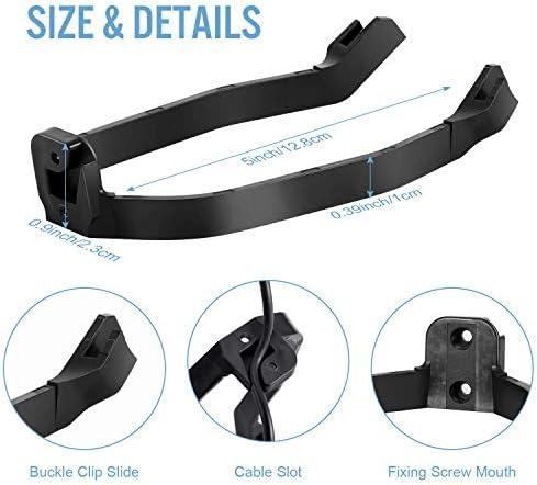 AGPTEK Garde Boue Arrière pour Trottinette Electrique Xiaomi M365/M365 Pro avec Support de Garde-Boue, Accessoire de Remplacement de Scooter Electrique avec Vis et Capuchons à Visser-Noire