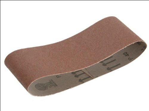 Faithfull AB75457F Cloth Sanding Belt 75 x 457mm 120g (3 Pieces) FAIAB75457F ABRASIVE CLOTH SANDING BELT Accessories Sanding Sheets Belt Sanding Sheets Power Tools