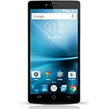 """NUU Mobile Z8 32GB 5.5"""" Dual 4G LTE SIMs Android Smartphone (Unlocked) - Black - Z8 US BLK"""