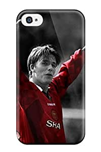 High Quality Shock Absorbing Case For Iphone 4/4s-david Beckham Ac Milan