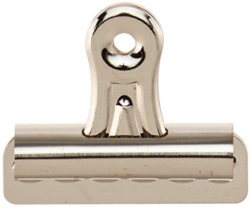Sparco Bulldog Clip, 11/32-Inch Cap, Size 2, 2-1/4-Inch, 36 per Box, Silver (SPR58501)