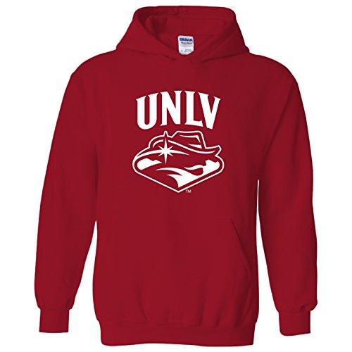 AH03 - UNLV Rebels Arch Logo Hoodie - Medium - Red