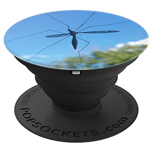 Tiny Bug Silhouette Pop Socket Insect Photography - PopSockets Grip and Stand for Phones and -