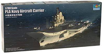 Trumpeter 1/700 PLA Chinese Shi Lang Aircraft Carrier Model Kit