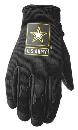 Power Trip U.S. Army Halo Gloves - Medium/Black