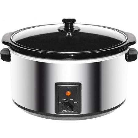 Brentwood Appliances SC-170S 8.0 Quart Slow Cooker Stainless Steel