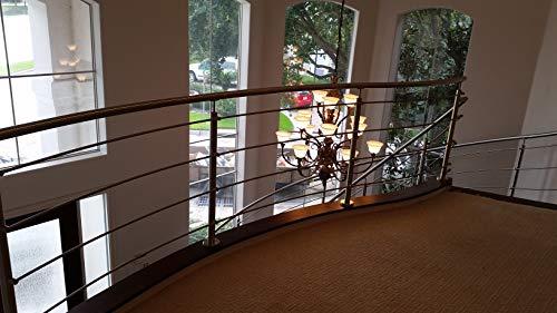 Amazon.com: Sistema de escalera newel Post e0042. Baranda de ...