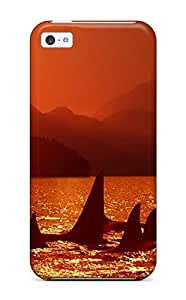 Tpu Case Skin Protector For Iphone 5c Whale With Nice Appearance