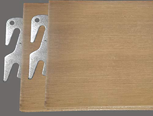 - Replacement Items Queen or King Natural Maple Hook-On Bed Rails