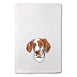 Style In Print Custom Decor Flour Kitchen Towels Ariege Pointer Head Pets Dogs Cleaning Supplies Dish Towels Design Only 5