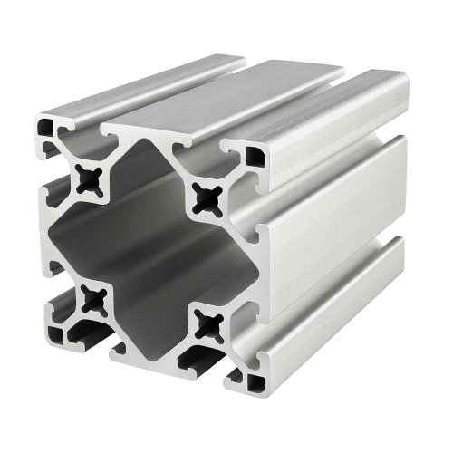 80/20 Inc., 3030-LS, 15 Series, 3'' x 3'' Lite Smooth T-Slotted Extrusion 48'' by 80/20 Inc (Image #1)