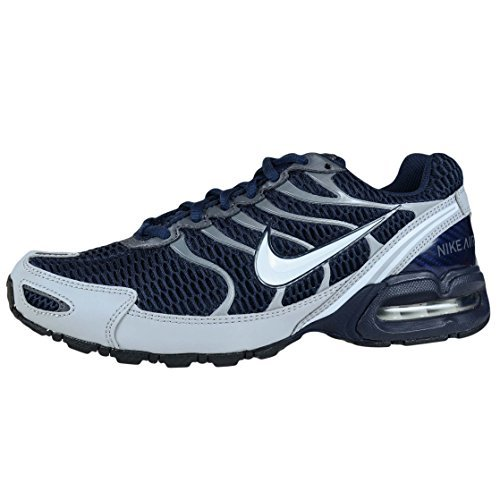 Nike Mens Air Max Torch 4 Running Shoe (Obsidian/White-Wolf Grey, Size 7)