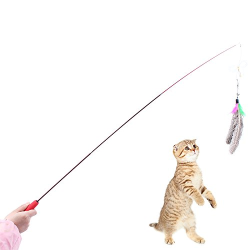 Jet bond cw01 cat toy catcher wand rod retractable carbon for Retractable cat wand