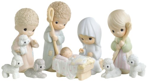 Amazoncom Precious Moments Nativity Series Set9 Nativity