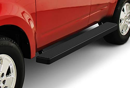 (APS iBoard (Black Powder Coated 5 inches) Running Boards | Nerf Bars | Side Steps | Step Rails for 2008-2012 Ford Escape & 2008-2011 Mazda Tribute & 2008-2010 Mercury Mariner )