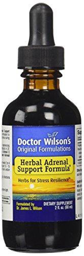 Dr Wilson's Original Formulations Herbal Adrenal Support Supplements, 2 Ounce