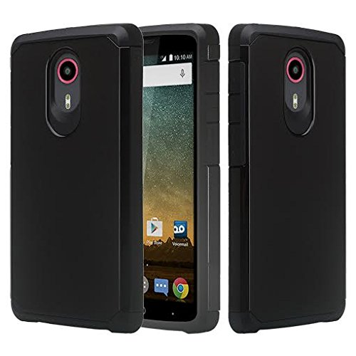 low priced e731d 1dd86 ZTE ULTRA N817 Case, ZTE Uhura Case, ZTE Quest Case - [Drop Protection]  Silicone Hybrid Dual Layer Defender Protective Case Cover for ZTE ...
