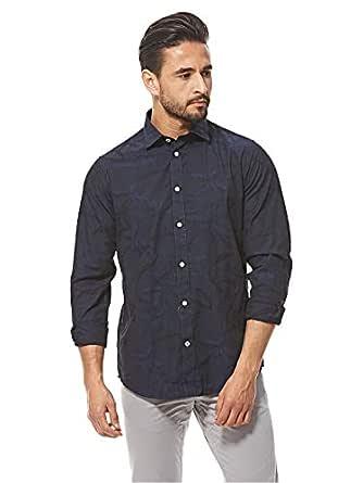 Arrow Full Sleeve Shirt for Men - Navy Blue