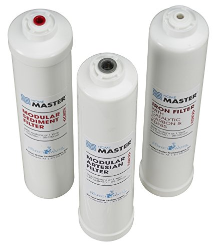 Home Master Iset-TMA-HGP Artesian HydroGardener Pro Replacement Water Filter Change Set, White by Home Master