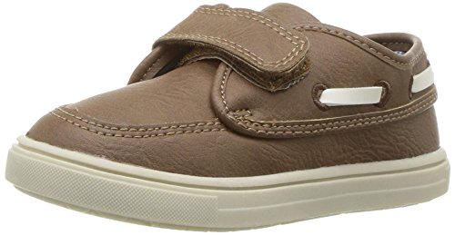 Brown Boys Shoes (carter's Boys' Super Sneaker, Brown, 9 M US Toddler)