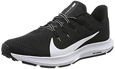 Nike Quest 2, Men's Road Running Shoes, (Black/White 002), 10 UK (45 EU)