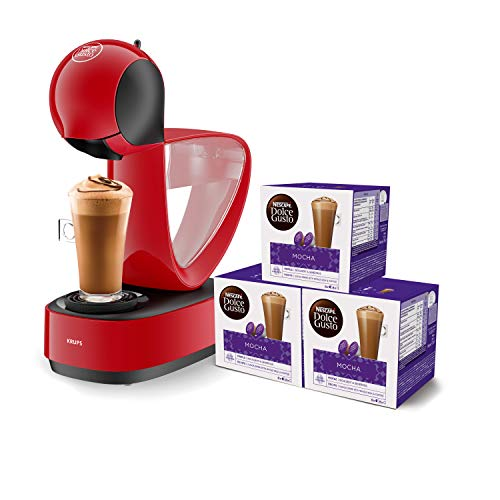 Krups Dolce Gusto Infinissima KP1705 – Cafetera cápsulas Dolce Gusto, 15 bares y 1500 W, con depósito de 1.2 L…