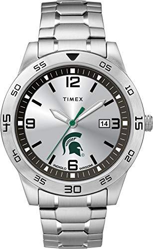 Timex Men's Michigan State University Watch Citation Steel Watch