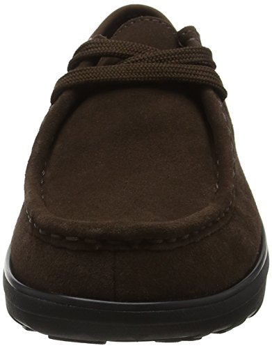Mocasines Moc 030 Marrón Lace up Para chocolate Fitflop Mujer Loaff wBIaq4F