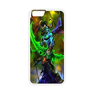 Custom Case Games World of Warcraft WOW For iPhone 6 Plus 5.5 Inch Q3V533084