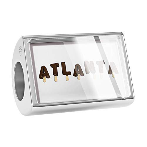 NEONBLOND Charm Atlanta Ice Cream Popsicle 925 Sterling Silver Bead